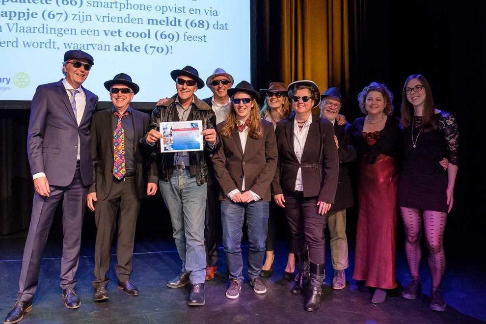 Amsterdammers winnen Groot Vlaardings Dictee