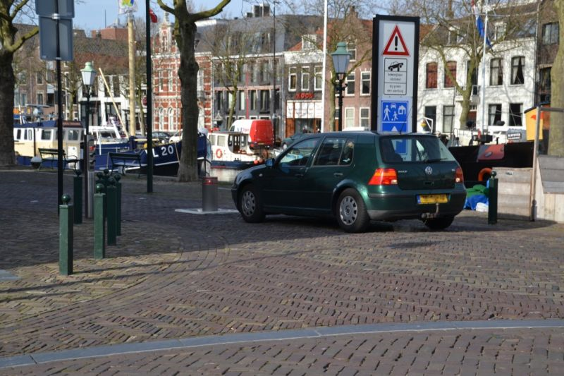 Poller Westhavenkade weer in gebruik