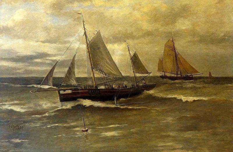 Museum Maassluis zoekt werk van C.W. Smith