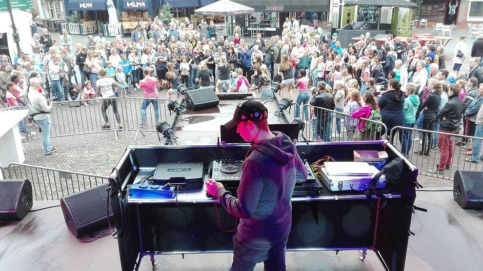 DJ Tim Dreamex op Furieade