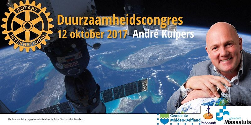 André Kuipers hoofdspreker congres Rotary