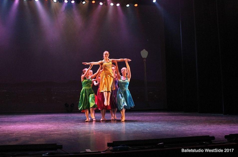 Muziek en dans tijdens Laureatenconcert