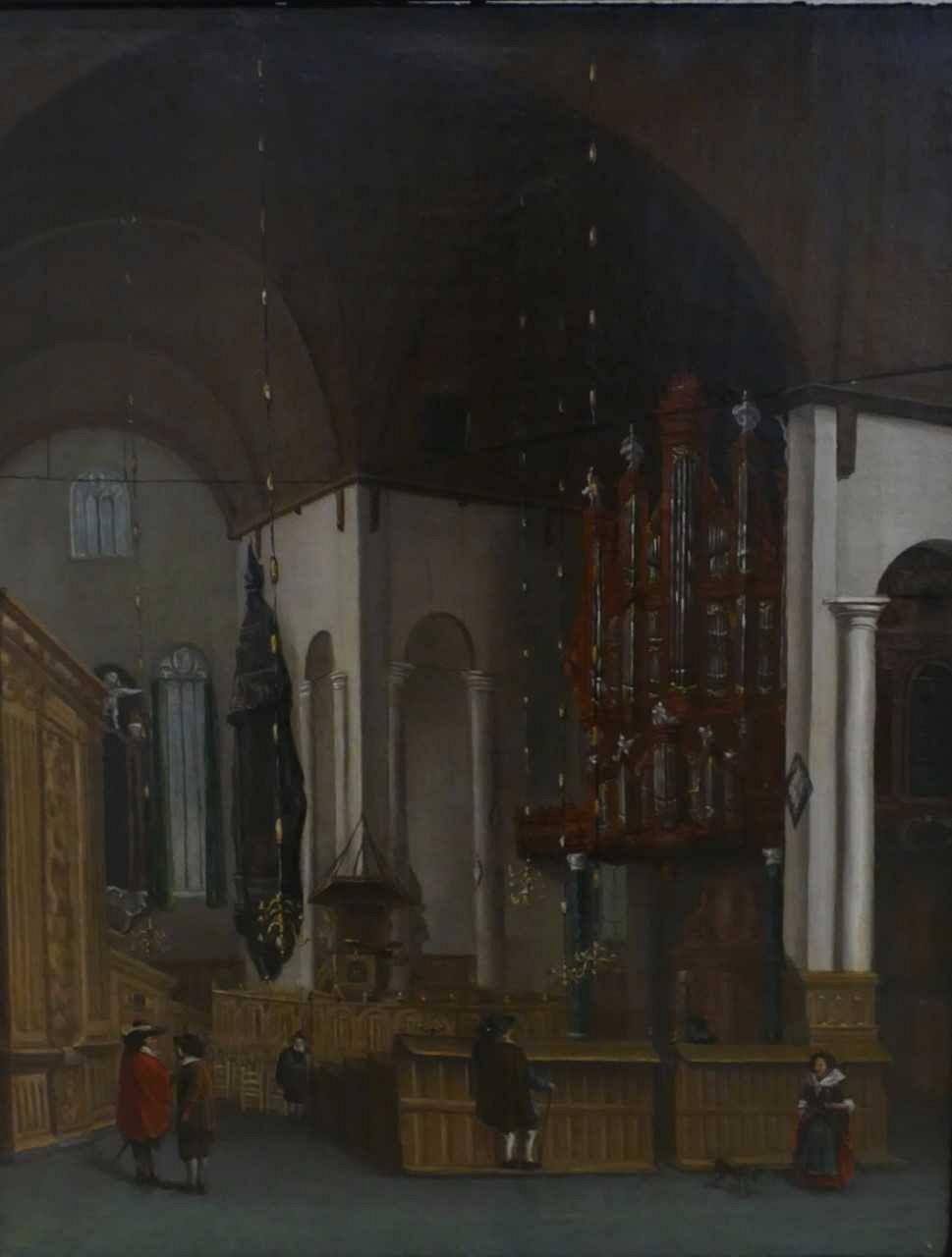 Museum verwerft schilderij Groote Kerk uit Parijs