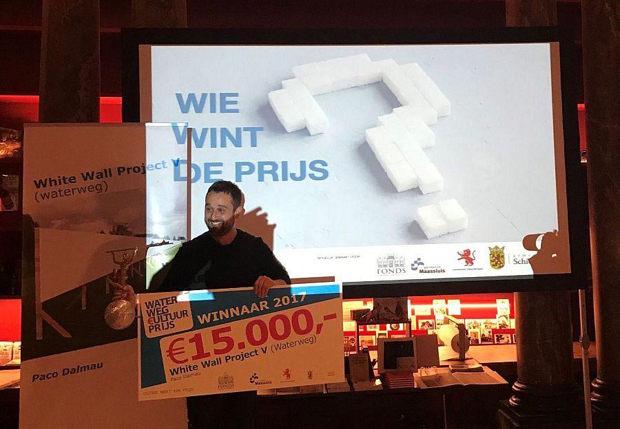 White Wall Project wint de Waterweg Cultuurprijs