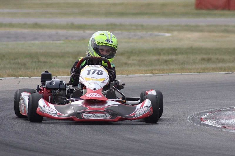 Rocco de Heer tweede in GK4 kartkampioenschap