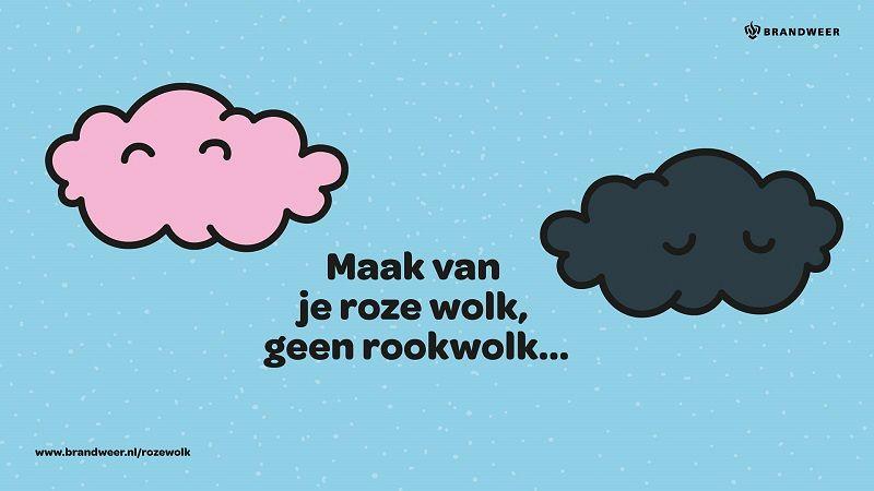 Maak van je roze wolk geen rookwolk