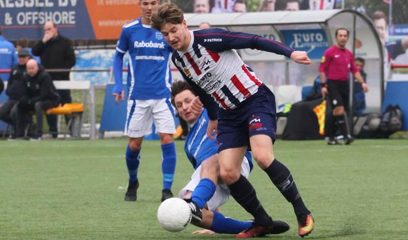 Excelsior Maassluis en GVVV spelen teleurstellend gelijk