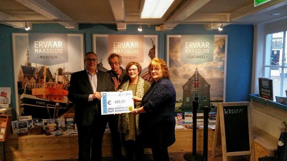 400 euro opgehaald voor Stichting Kanjer Wens