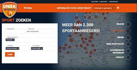 Vraag en aanbod aangepast sporten online