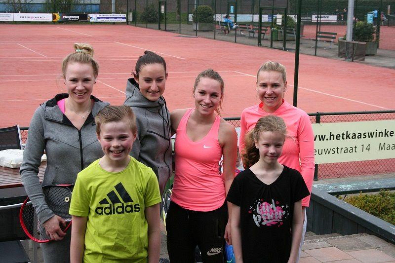 Bequick Dames 1 start met overwinning