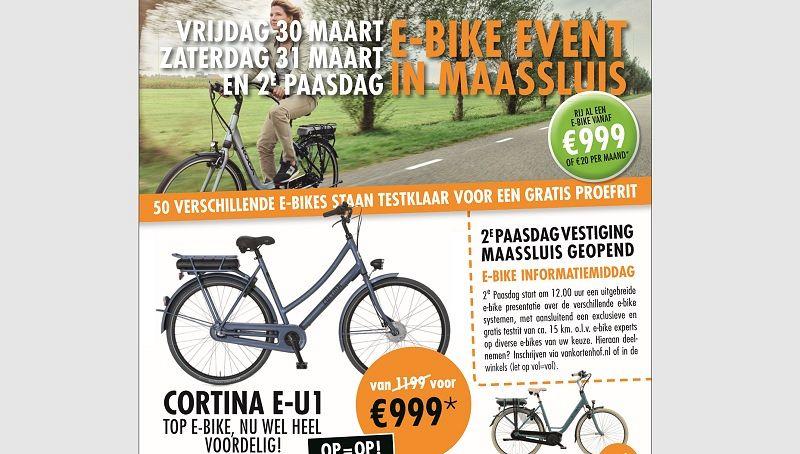 E-bike Event bij Van Kortenhof Maassluis