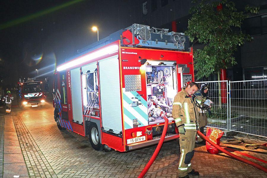 Problemen met brandweerauto's