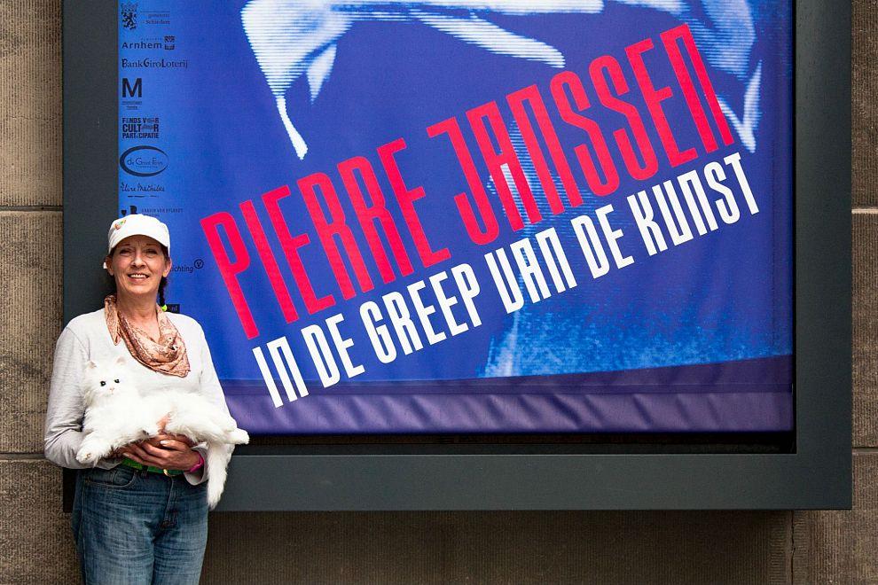 Evelyne Janssen voor even directeur van het museum