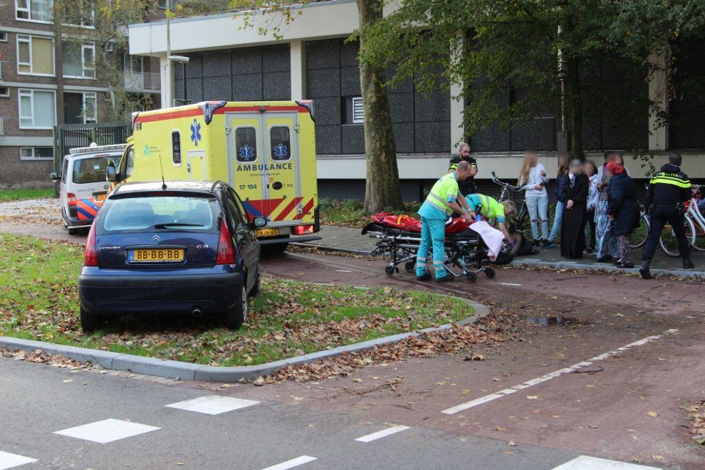 Scholier gewond na aanrijding