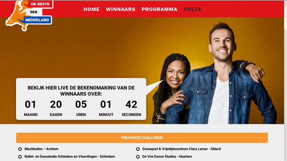 Schiedamse dansschool op voor 'beste van Nederland'