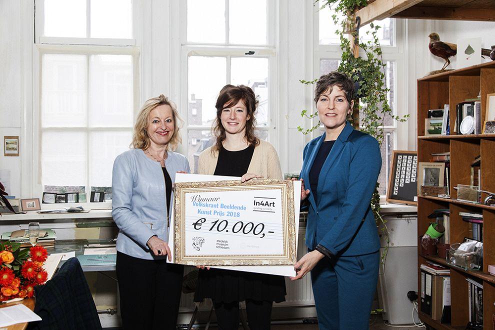 Anne Geene wint kunstprijs Volkskrant