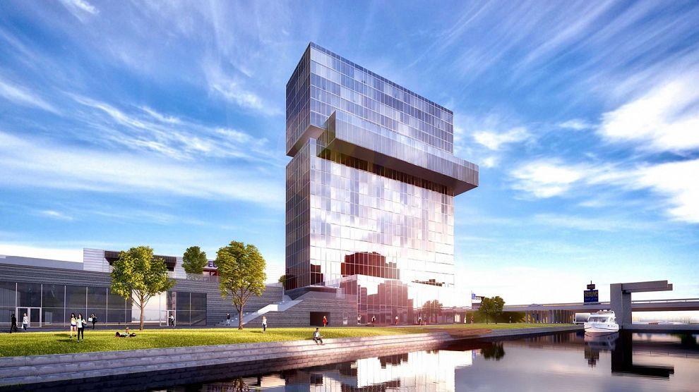 B&W: Schiehotel mag gebouwd