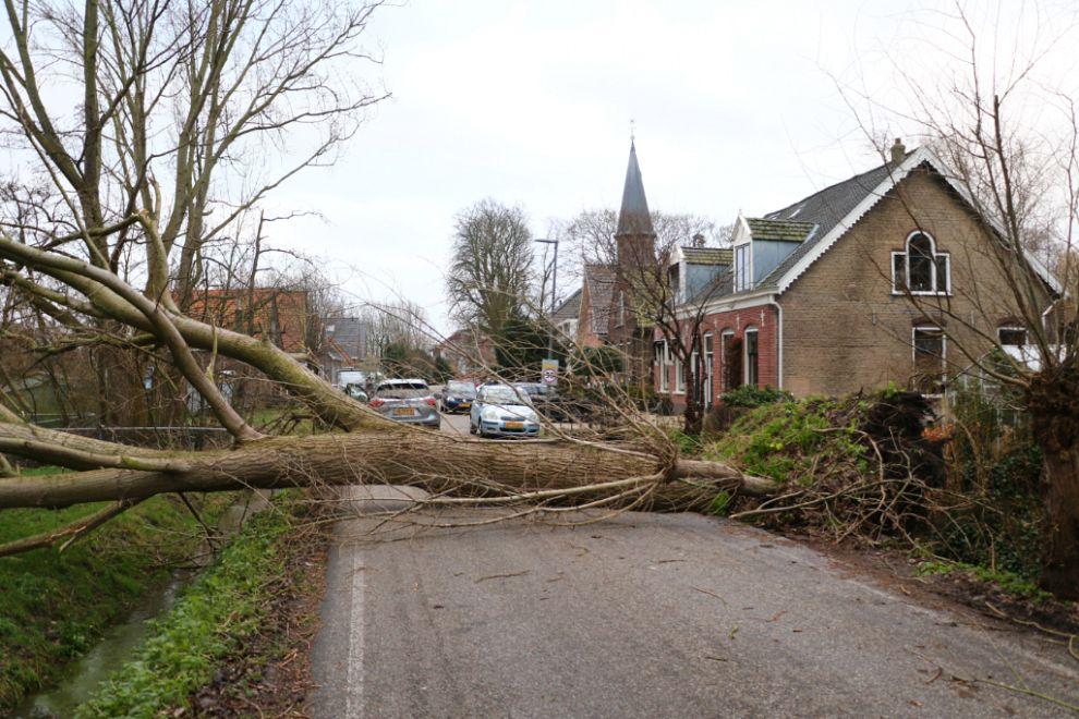 Stormincidenten: 55 stuks in Schiedam