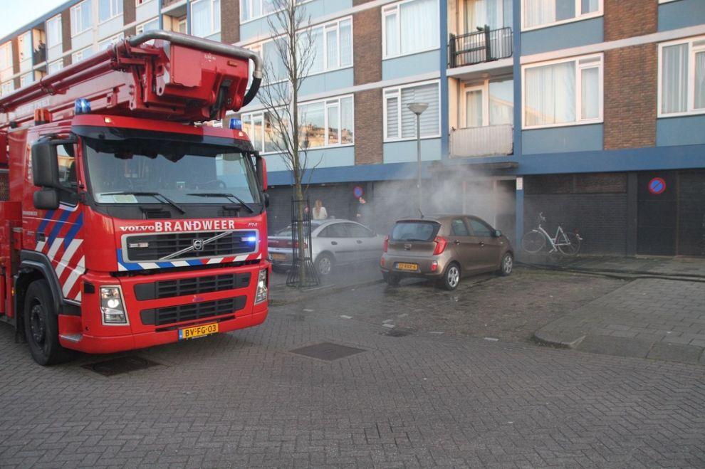 Blijhofbewoners hebben veel plezier aan brandje