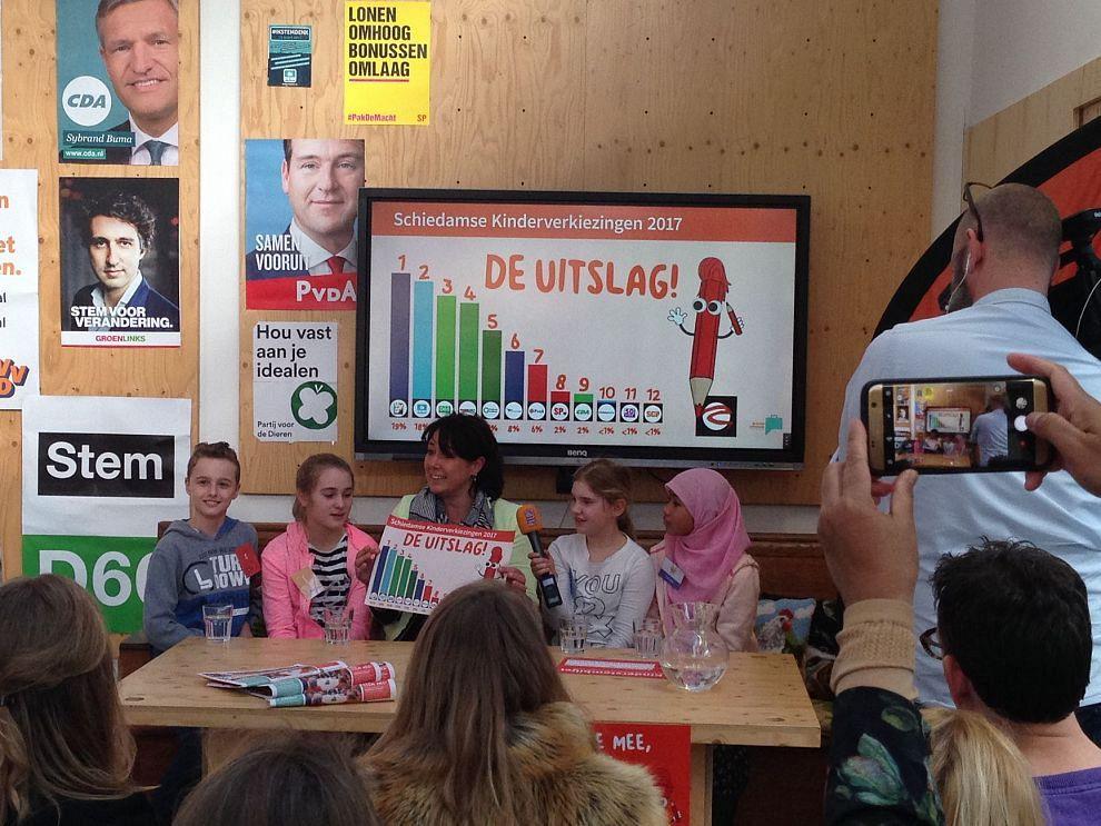 Kinderen vinden discriminatie en pesten belangrijkste verkiezingsthema