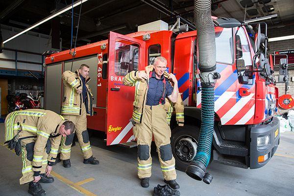 Brandweer Rijnmond blijft het snelst