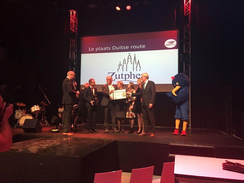 Hattrick: Zutphen voor derde keer mooiste doorkomststad Roparun