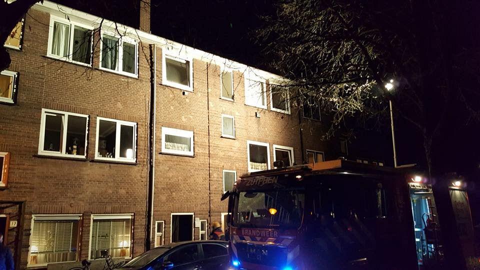 Brandje aan Praebsterkamp Zutphen