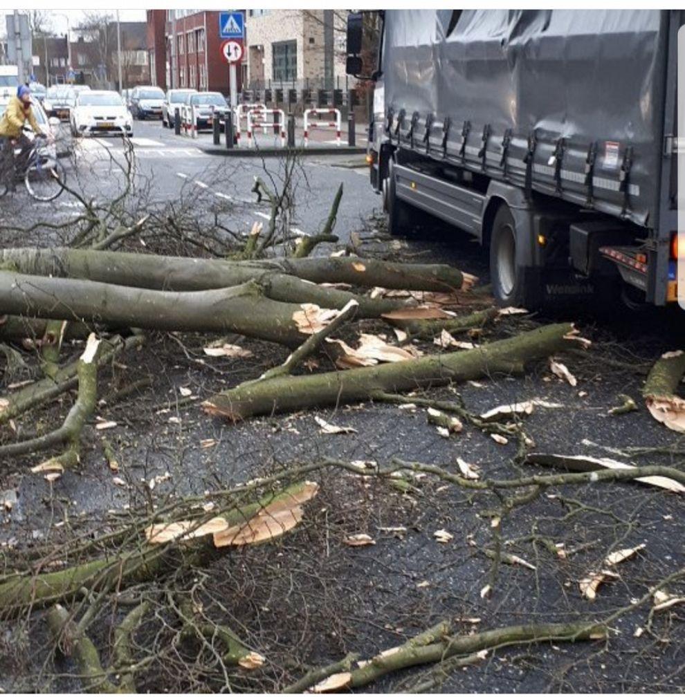 Storm houdt huis in Zutphen