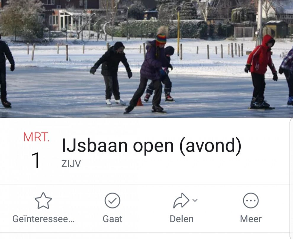 Zutphense ijsbaan donderdag open