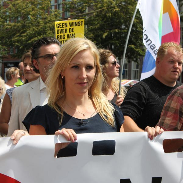 SP-leider Lilian Marijnissen naar Zutphen voor campagne